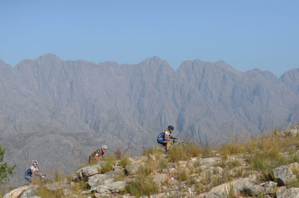 Long, steep climbs ensure that all three days of the Momentum Health Tankwa Trek, presented by Biogen, are a formidable challenge, even for the most seasoned professionals. Photo credit: www.zcmc.co.za