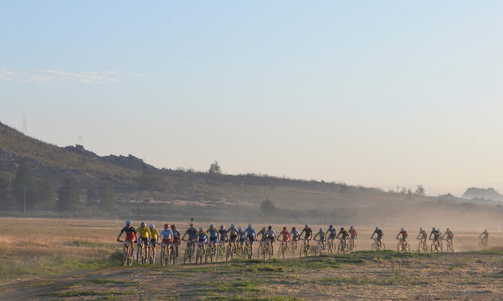 The competition among the podium contenders has always been fierce, but with UCI status, the 2017 Momentum Health Tankwa Trek, presented by Biogen, is expected to attract even greater depth with more intense racing. Photo credit: www.zcmc.co.za