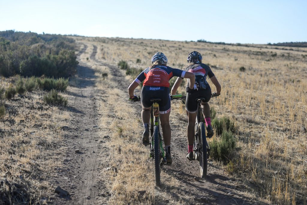 The Momentum Health Tankwa Trek, presented by Biogen, is predominantly a two-rider team event, making it an ideal preparation race for the annual Absa Cape Epic. Photo credit: www.zcmc.co.za
