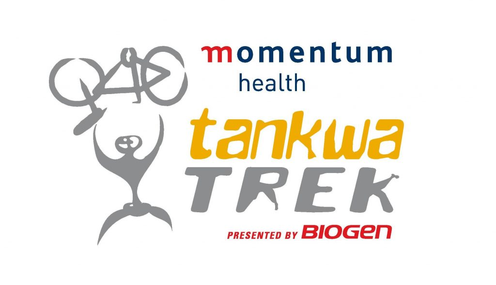 Introducing the new-look Tankwa Trek logo. Introducing the Momentum Health Tankwa Trek, presented by Biogen.