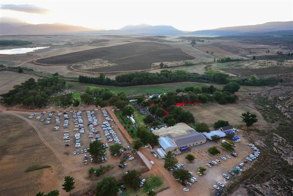 The Momentum Health Tankwa Trek, presented by Biogen, is based on the Kaleo Manor race village 25km north of Ceres.  Photo by www.zcmc.co.za