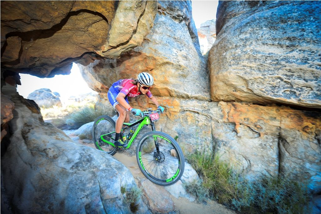 For the 2018 race Candice Lill will partner with the exciting German XCO star, Helen Grobert of Cannondale Factory Racing. Photo by Zoon Cronje.