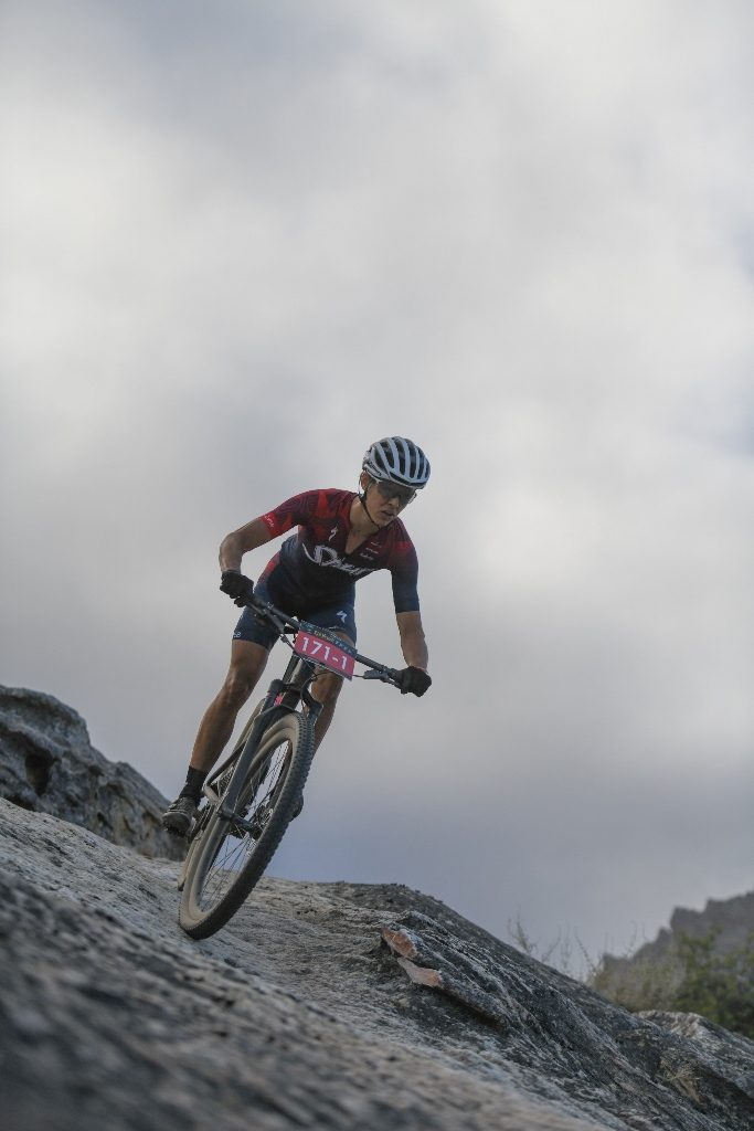 The event is famous for its technical singletracks, especially in the Witzenberg Valley on Stage 1. Photo by Zoon Cronje.