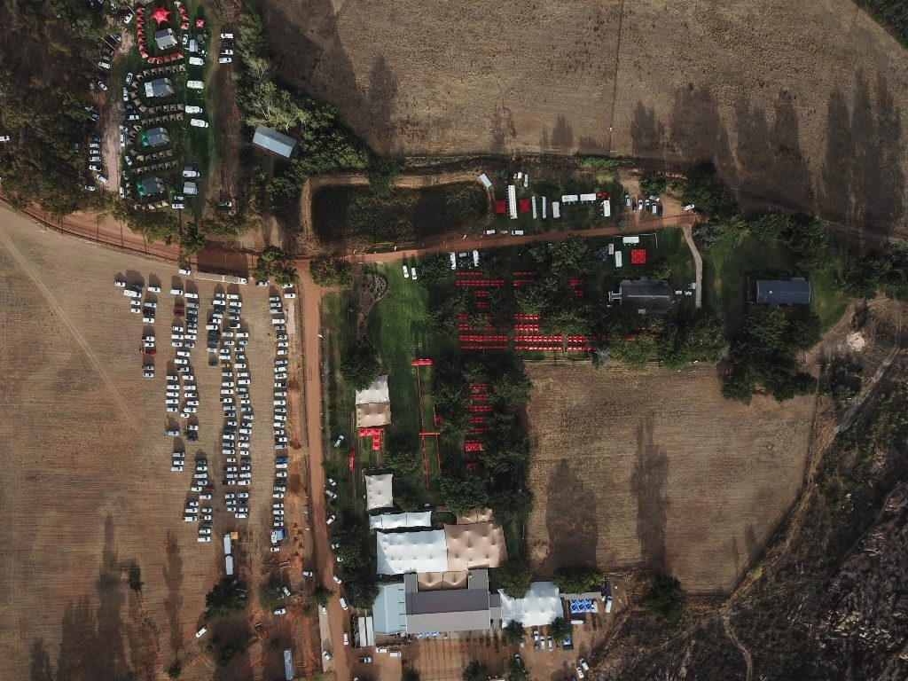 The race village, at Kaleo Guest Farm, is an oasis in the arid Koue Bokkeveld. Photo by Zoon Cronje.